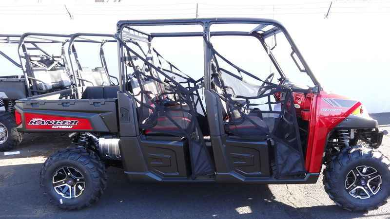 New 2014 Polaris Ranger Crew 900 EPS Sunset Red LE ATVs For Sale in Arizona  on atvtrades com