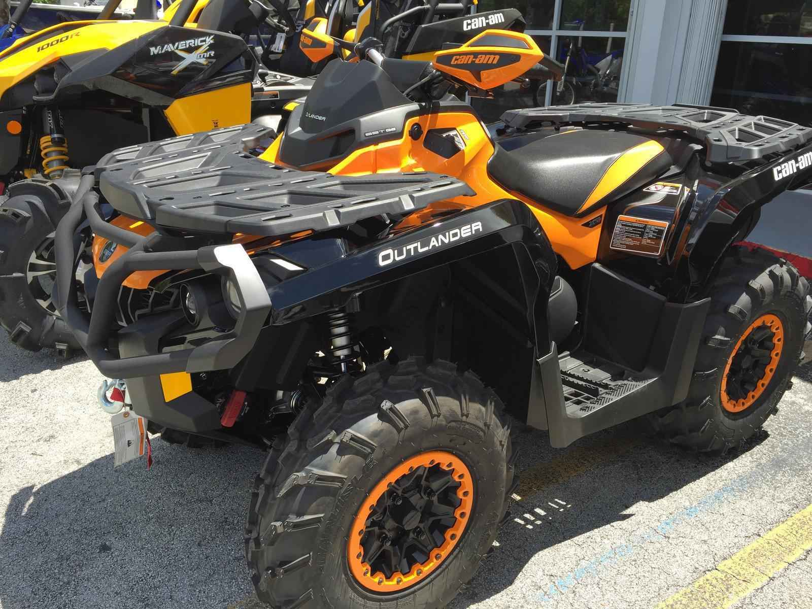 New 2015 Can Am OUTLANDER XT P 1000 ATVs For Sale in Florida on ATV