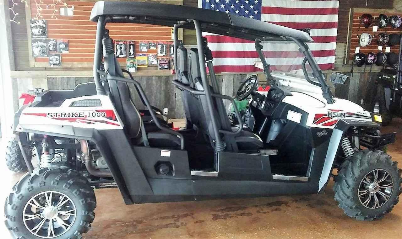 New 2015 Hisun STRIKE 1000 CREW ATVs For Sale in Missouri on atvtrades com