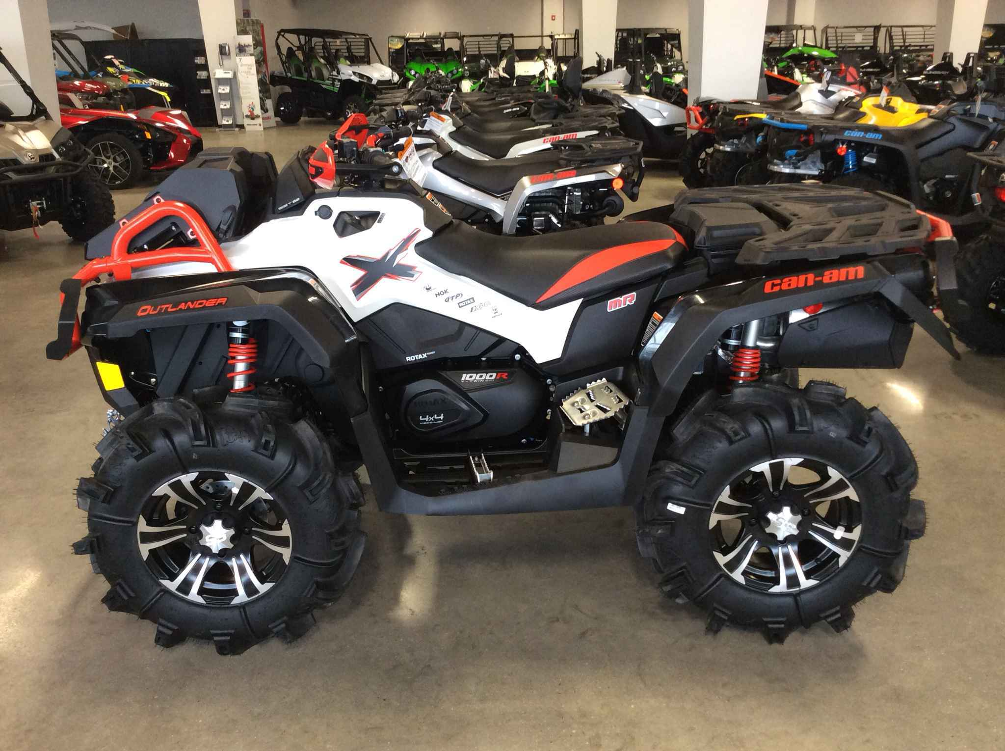 New 2016 Can Am Outlander 1000r Xmr Atvs For In Jersey 14 299
