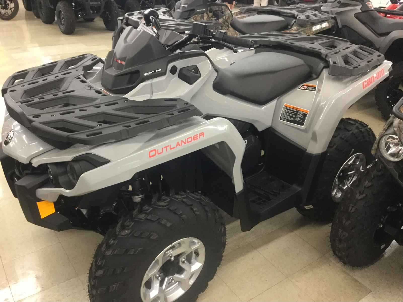 New 2016 Can Am Outlander 650 Dps Atvs For In Nevada 9 699