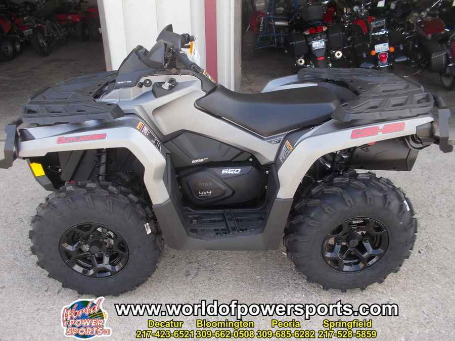 New 2016 Can Am Outlander 650 Xt Atvs For In Illinois 9 599