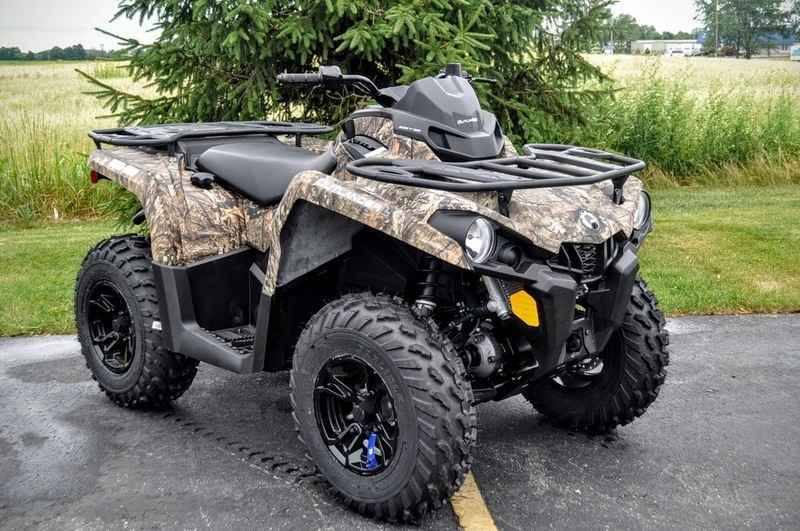 New 2016 Can Am Outlander L Dps 570 Mossy Oak Break Up C Atvs For In Wisconsin 6 787