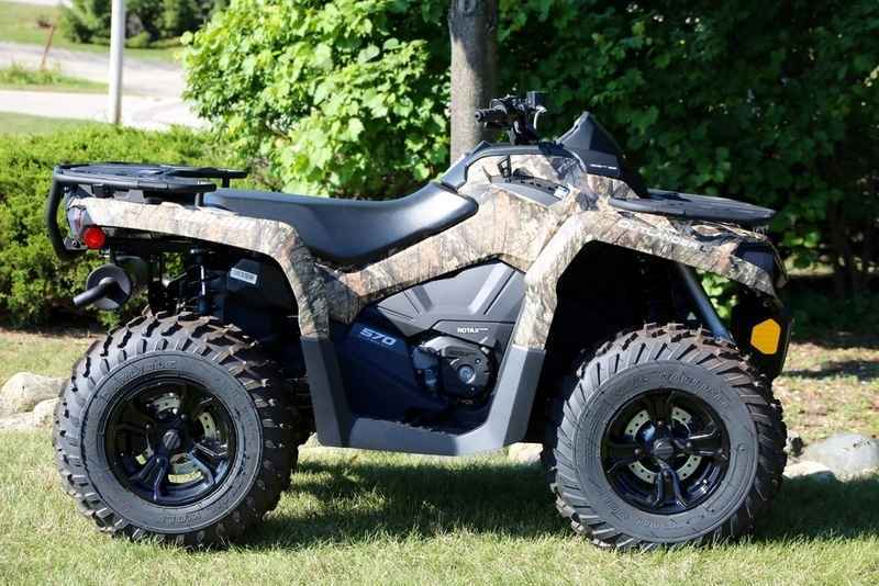 New 2016 Can Am Outlander L Dps 570 Mossy Oak Break Up C Atvs For In Wisconsin 6 987