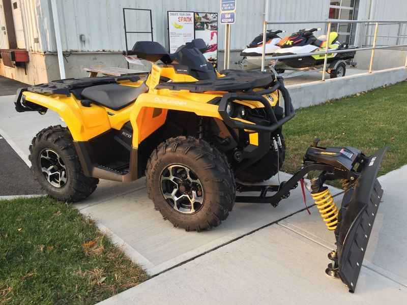new 2016 can am outlander max xt 570 atvs for sale in. Black Bedroom Furniture Sets. Home Design Ideas