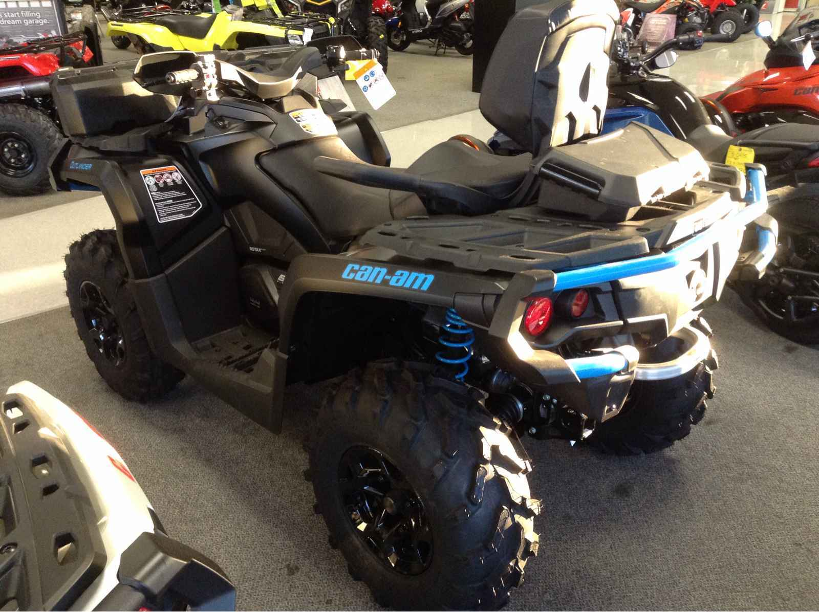 New 2016 Can Am Outlander Max Xt 570 Matte Black Atvs For In North Carolina 9 195