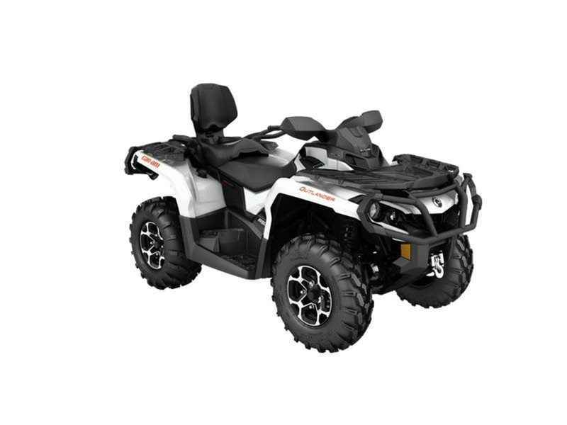 New 2016 Can Am Outlander Max Xt 650 Pearl White Atvs For In Illinois 9 995
