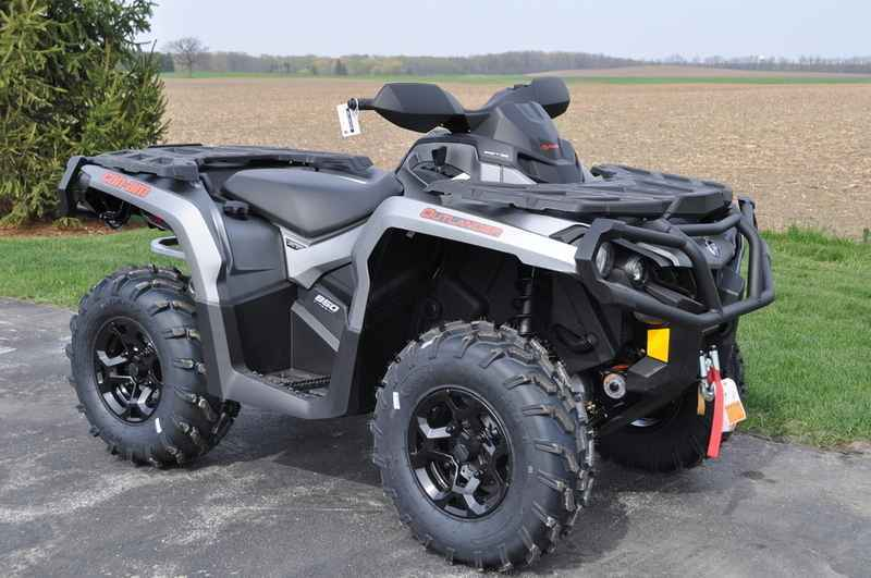 New 2016 Can Am Outlander Xt 850 Brushed Aluminum Atvs For In Wisconsin On Atv Trades
