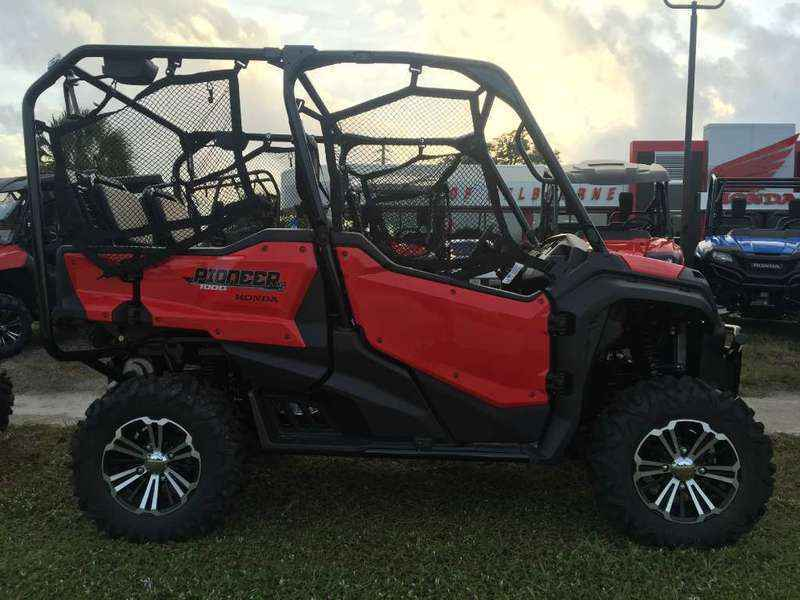 new 2016 honda pioneer 1000 5 deluxe atvs for sale in florida on atv trades. Black Bedroom Furniture Sets. Home Design Ideas