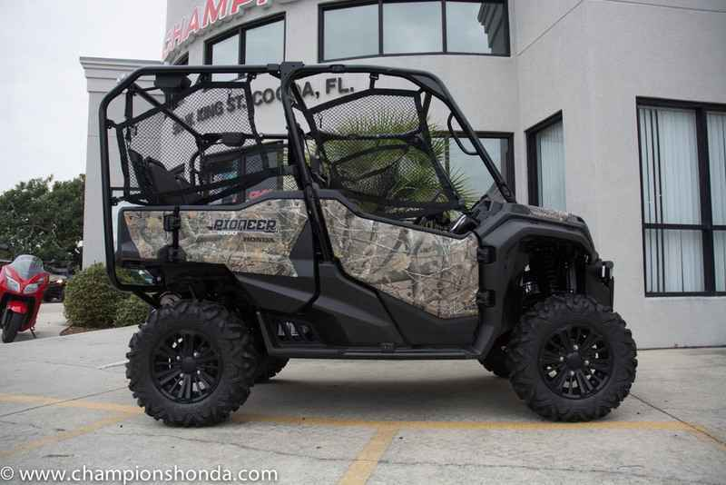 new 2016 honda pioneer 1000 5 deluxe honda phantom camo atvs for sale in florida on atv trades. Black Bedroom Furniture Sets. Home Design Ideas