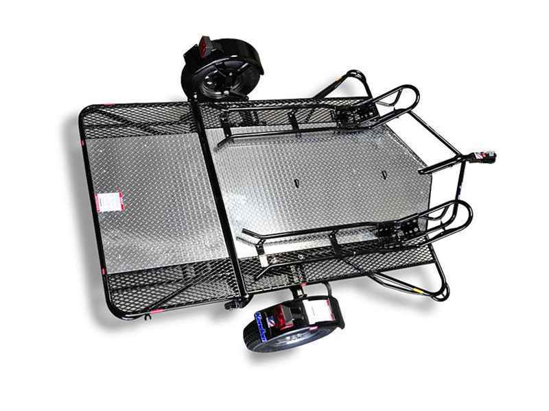 New 2016 Kendon Dual Stand Up Motorcycle Trailer ATVs For