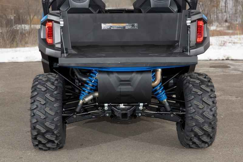 new 2016 polaris general 1000 eps velocity blue atvs for sale in wisconsin on. Black Bedroom Furniture Sets. Home Design Ideas