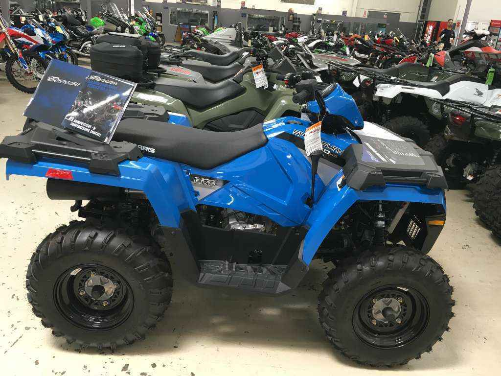new 2016 polaris sportsman 450 h o atvs for sale in california on atv trades. Black Bedroom Furniture Sets. Home Design Ideas
