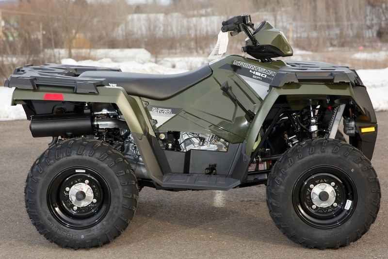 new 2016 polaris sportsman 450 h o sage green atvs for sale in wisconsin on atv trades. Black Bedroom Furniture Sets. Home Design Ideas