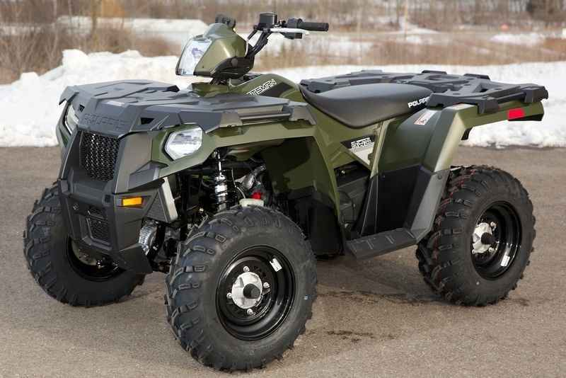 New 2016 Polaris Sportsman 450 H O Sage Green Atvs For In Wisconsin 4 477