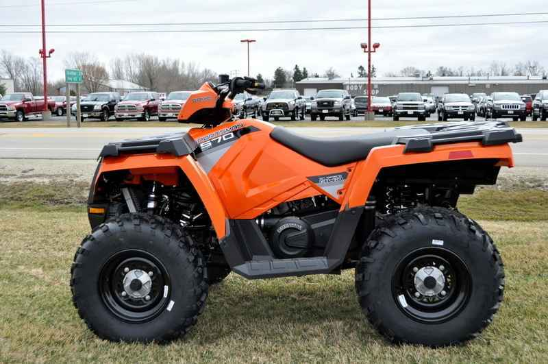 New 2016 Polaris Sportsman 570 Orange Burst Atvs For In Wisconsin 4 987