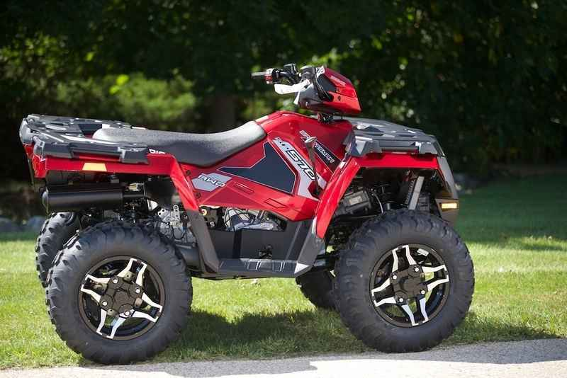 New 2016 Polaris Sportsman 570 Sp Eps Sunset Red Atvs For In Wisconsin 6 987