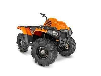 New 2016 Polaris Sportsman 850 High Lifter Edition Orange Madness Atvs For In Tennessee 9 999