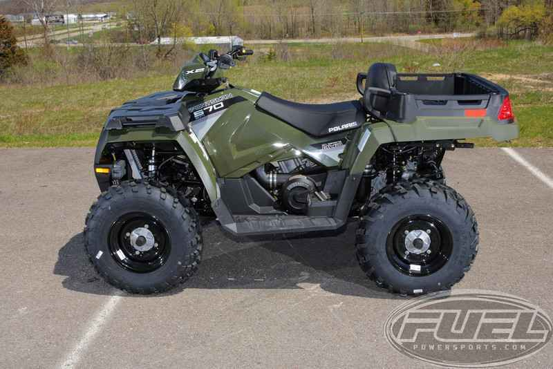 New 2016 Polaris Sportsman X2 570 Eps Sage Green Atvs For In Wisconsin 7 995