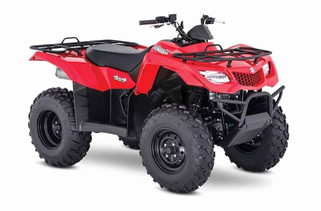 New 2016 Suzuki KINGQUAD 400 4X4 AUT ATVs For Sale in