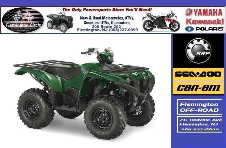 New 2016 Yamaha Grizzly 700 Eps Atvs For In Jersey 8 799