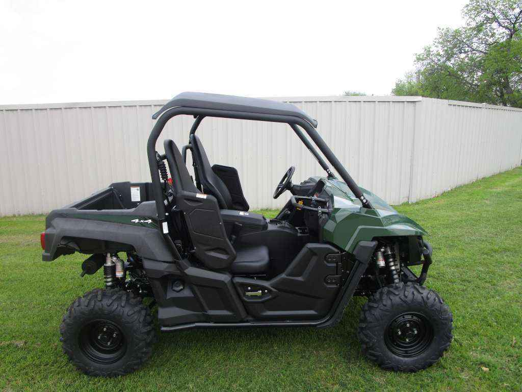 New 2016 yamaha wolverine r spec eps hunter green atvs for for Yamaha atv for sale used