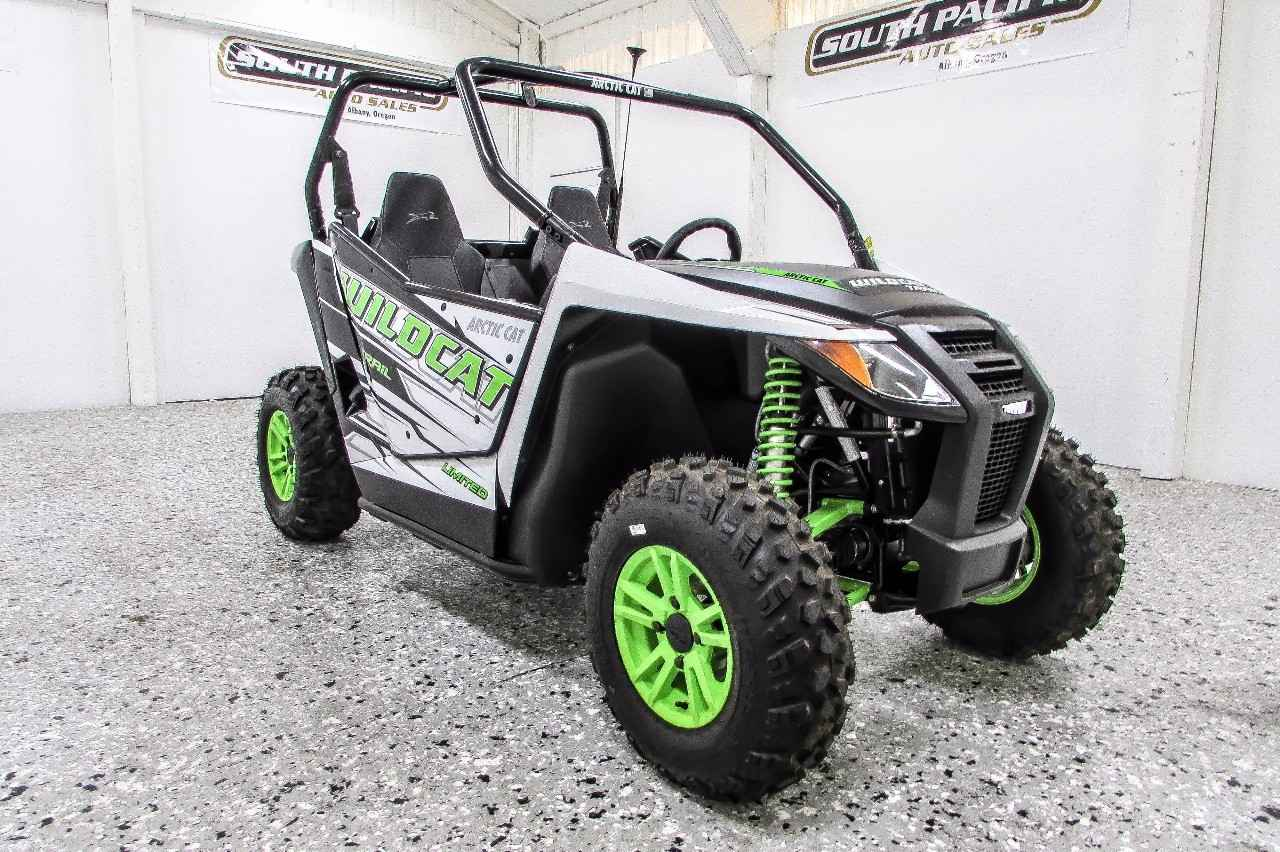 New 2017 Arctic Cat Wildcat Trail Limited Eps Atvs For In Oregon 13 199
