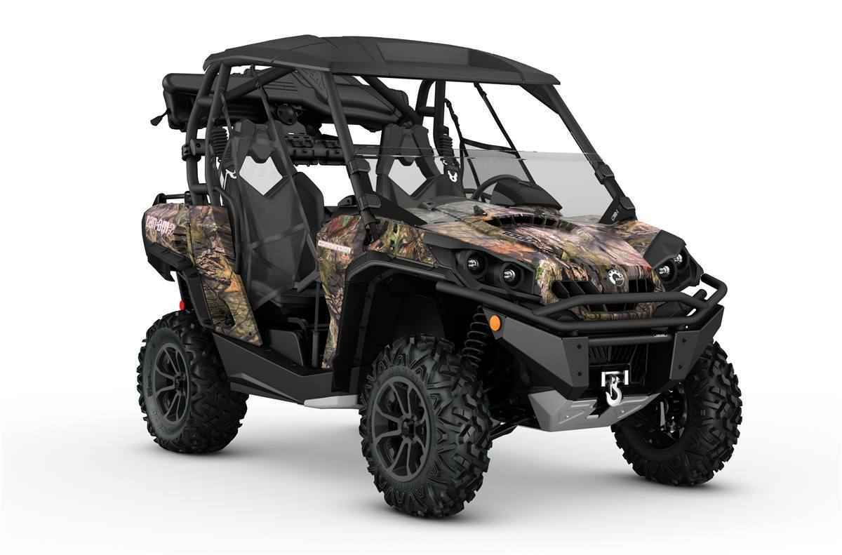 new 2017 can am commander 1000 hunting edition atvs for sale in minnesota on atv trades. Black Bedroom Furniture Sets. Home Design Ideas
