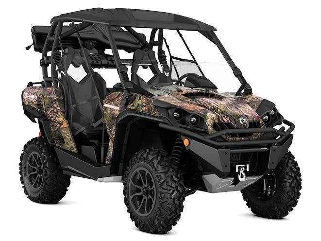 new 2017 can am commander 1000 hunting edition atvs for. Black Bedroom Furniture Sets. Home Design Ideas