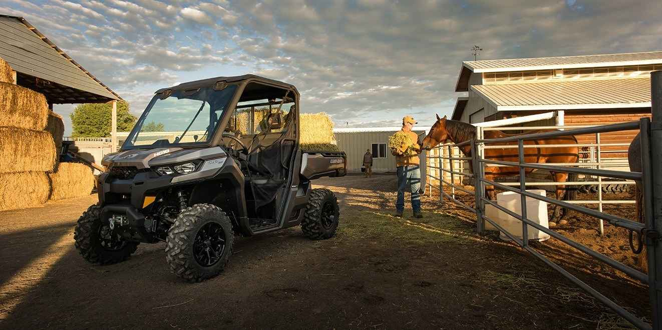 New 2017 Can Am Defender Max Xt Hd10 Atvs For In California 19 099