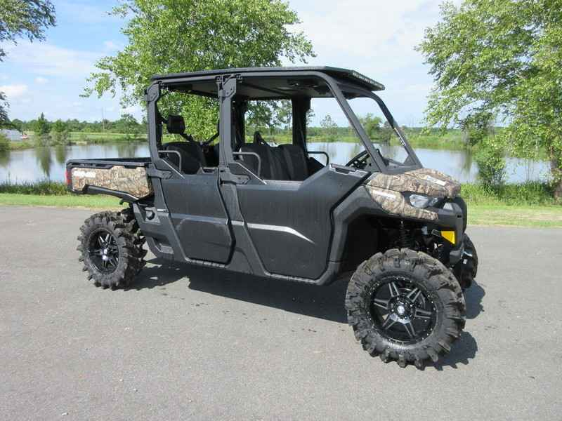 New 2017 Can Am Defender Max Xt Hd10 Mossy Oak Break Up Country Camo Atvs For In Georgia 24 995
