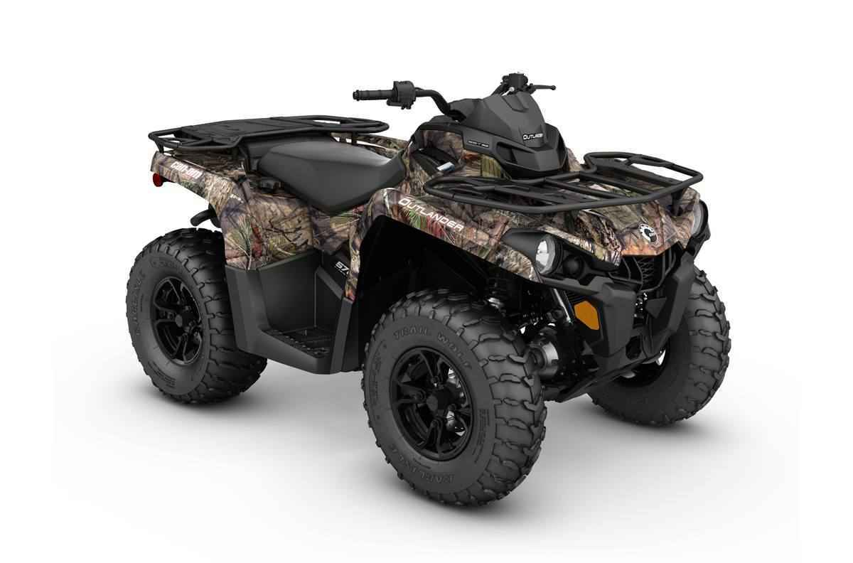 New 2017 Can Am OUTLANDER DPS 570 ATVs For Sale in