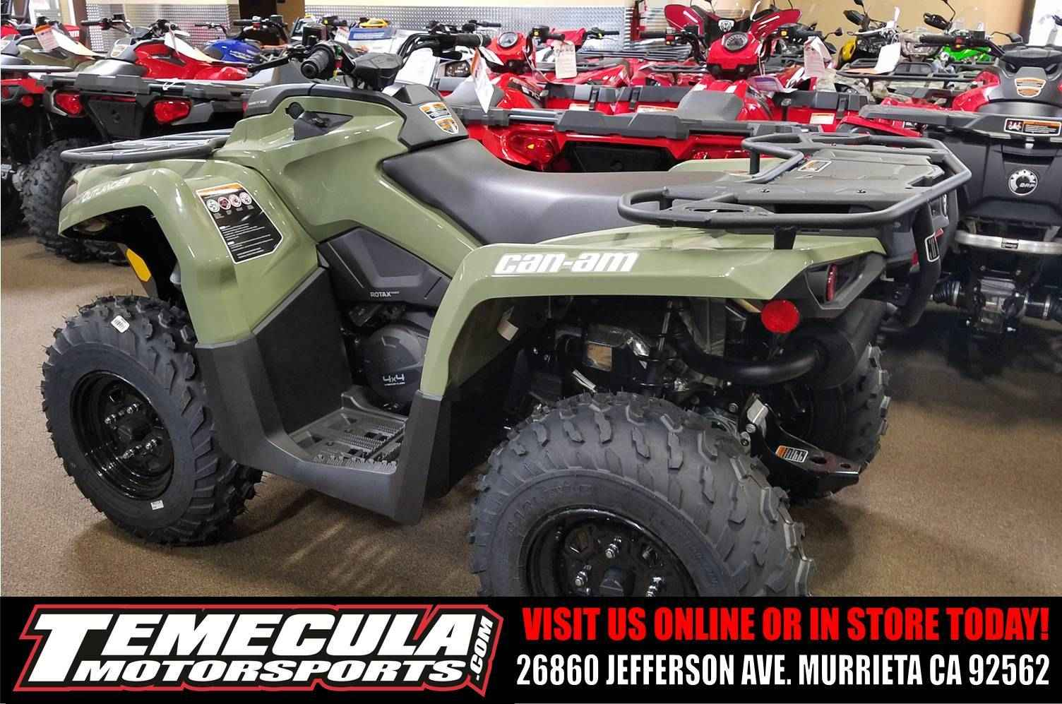 New 2017 Can Am Outlander 450 Atvs For In California 4 999
