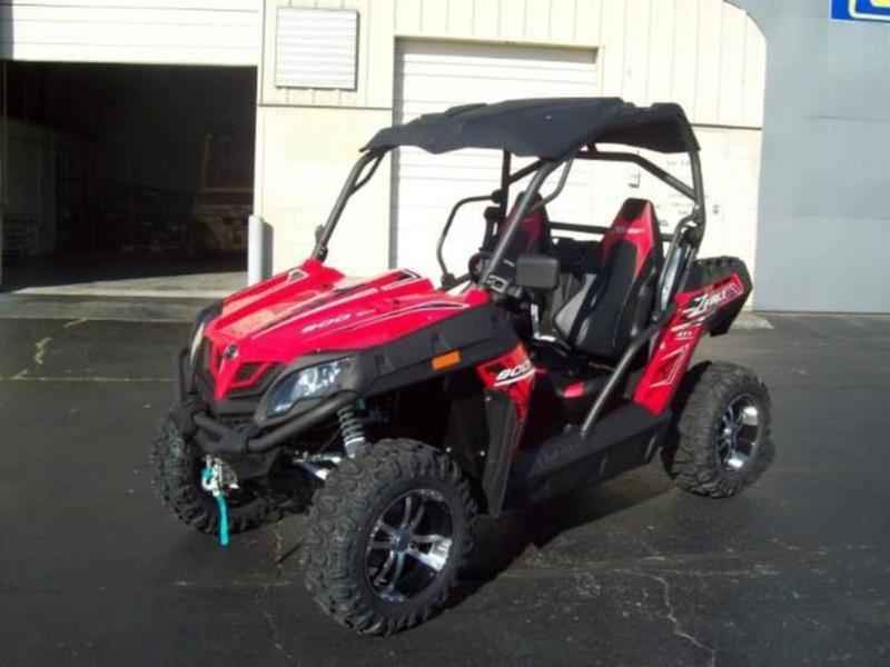 New 2017 Cfmoto ZFORCE 800 EPS TRAIL ATVs For Sale in Iowa on atvtrades com