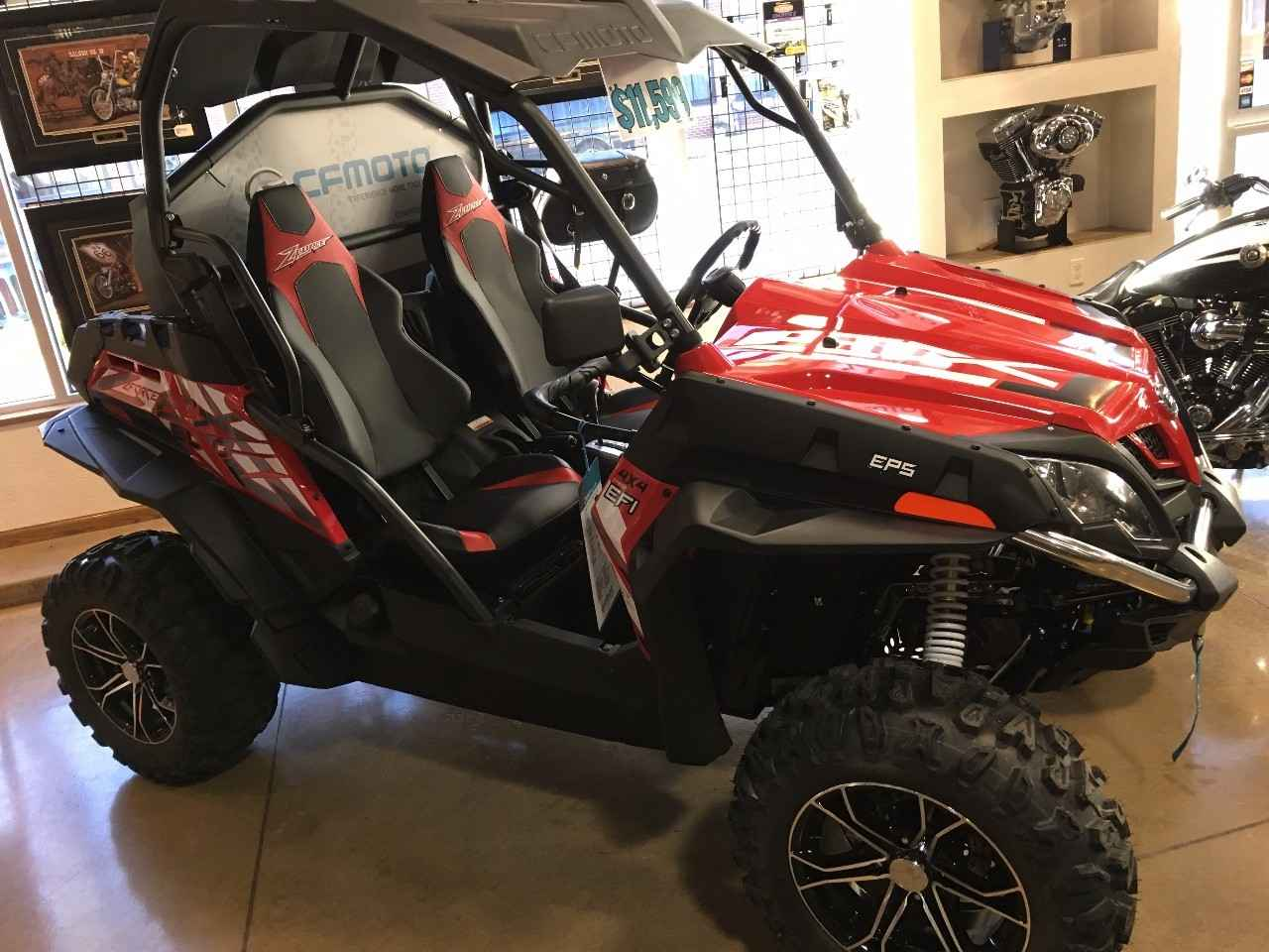 ATV CF MOTO: types, models, features and reviews of owners 9