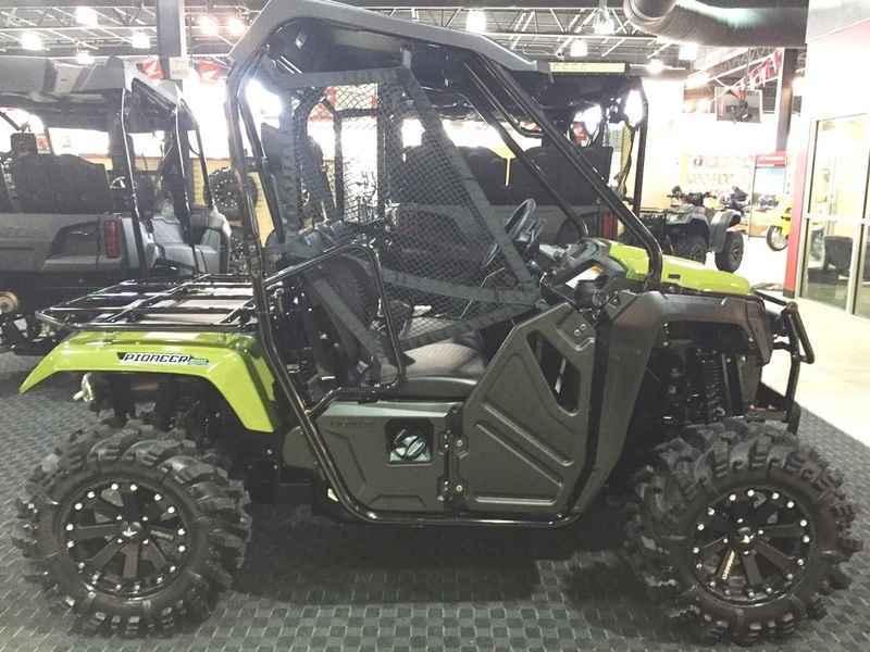 Honda Atv Side By Side >> New 2017 Honda Pioneer 500 Green ATVs For Sale in Arkansas on ATV Trades