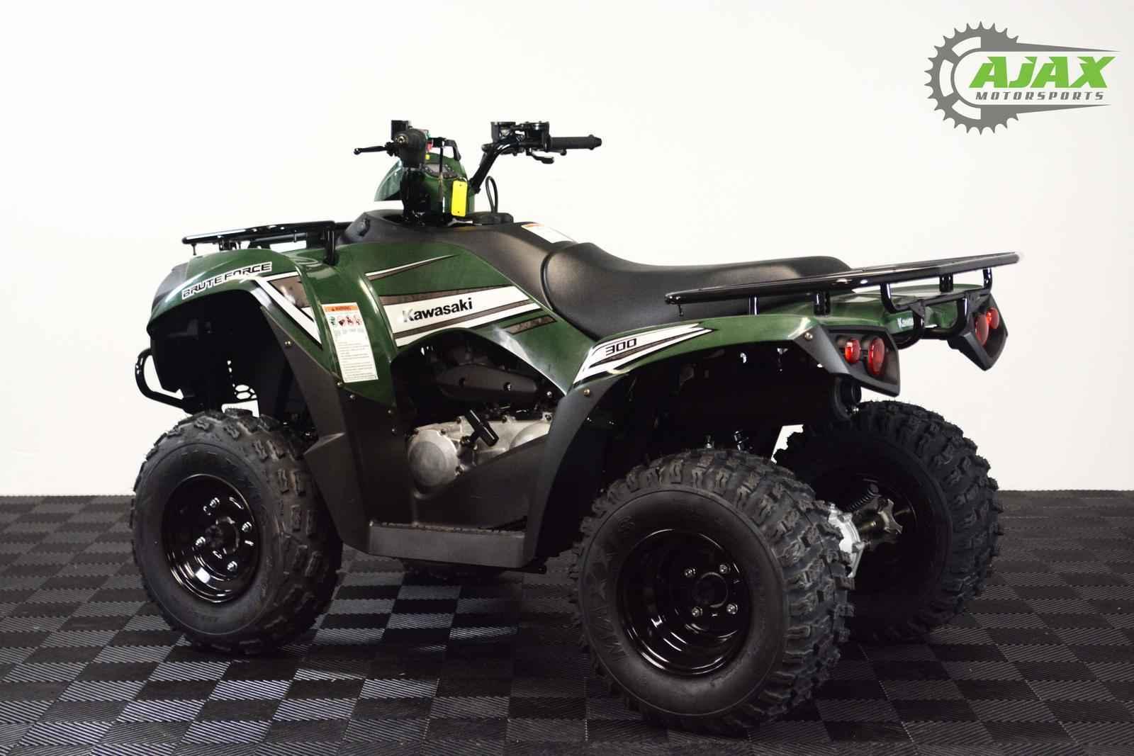 New 2017 Kawasaki BRUTE FORCE 300 ATVs For Sale in Oklahoma on ATV