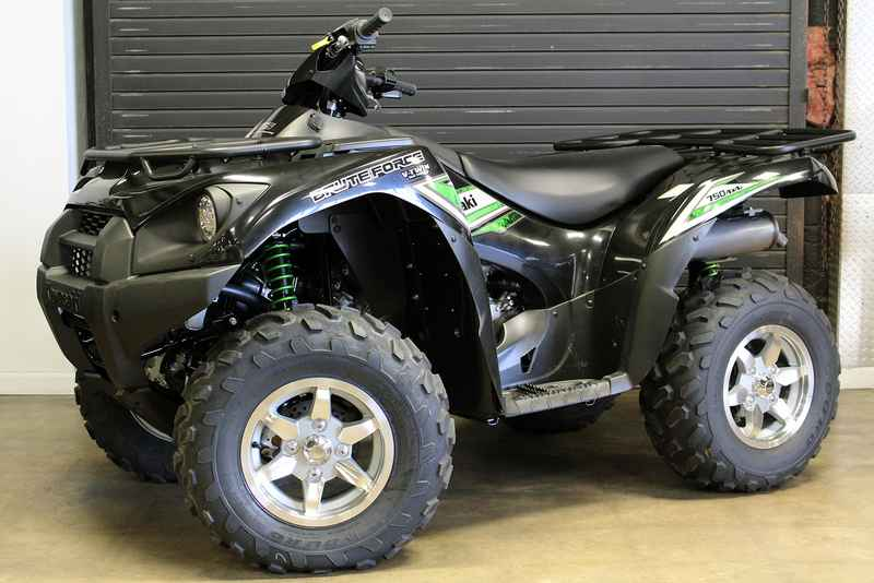 New 2017 Kawasaki Brute Force 750 4x4i EPS ATVs For Sale in Texas on  atvtrades com