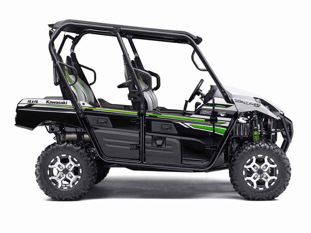 new 2017 kawasaki teryx4 le atvs for sale in florida on. Black Bedroom Furniture Sets. Home Design Ideas