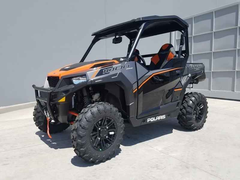New 2017 Polaris General 1000 Eps Deluxe Titanium Matte M
