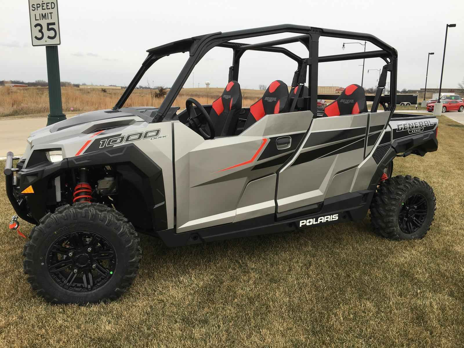 new 2017 polaris general 4 1000 eps atvs for sale in iowa on atv trades. Black Bedroom Furniture Sets. Home Design Ideas