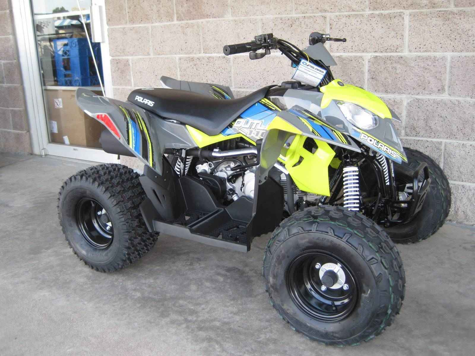 new 2017 polaris outlaw 110 atvs for sale in colorado on atv trades. Black Bedroom Furniture Sets. Home Design Ideas