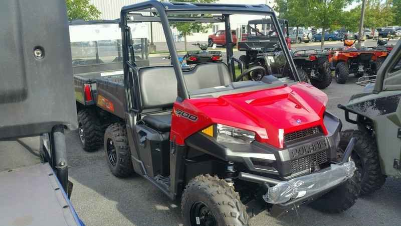 new 2017 polaris ranger 500 solar red atvs for sale in new york on atv trades. Black Bedroom Furniture Sets. Home Design Ideas