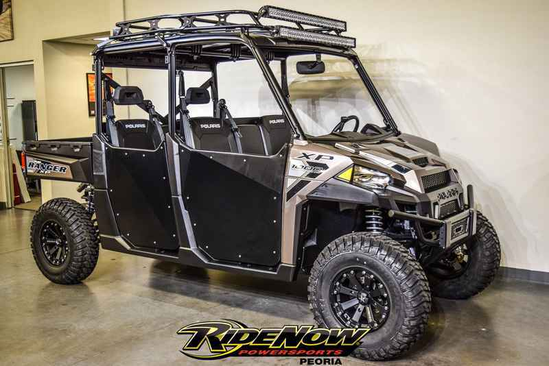 new 2017 polaris ranger crew xp 1000 eps nara bronze atvs for sale in arizona on atv trades. Black Bedroom Furniture Sets. Home Design Ideas