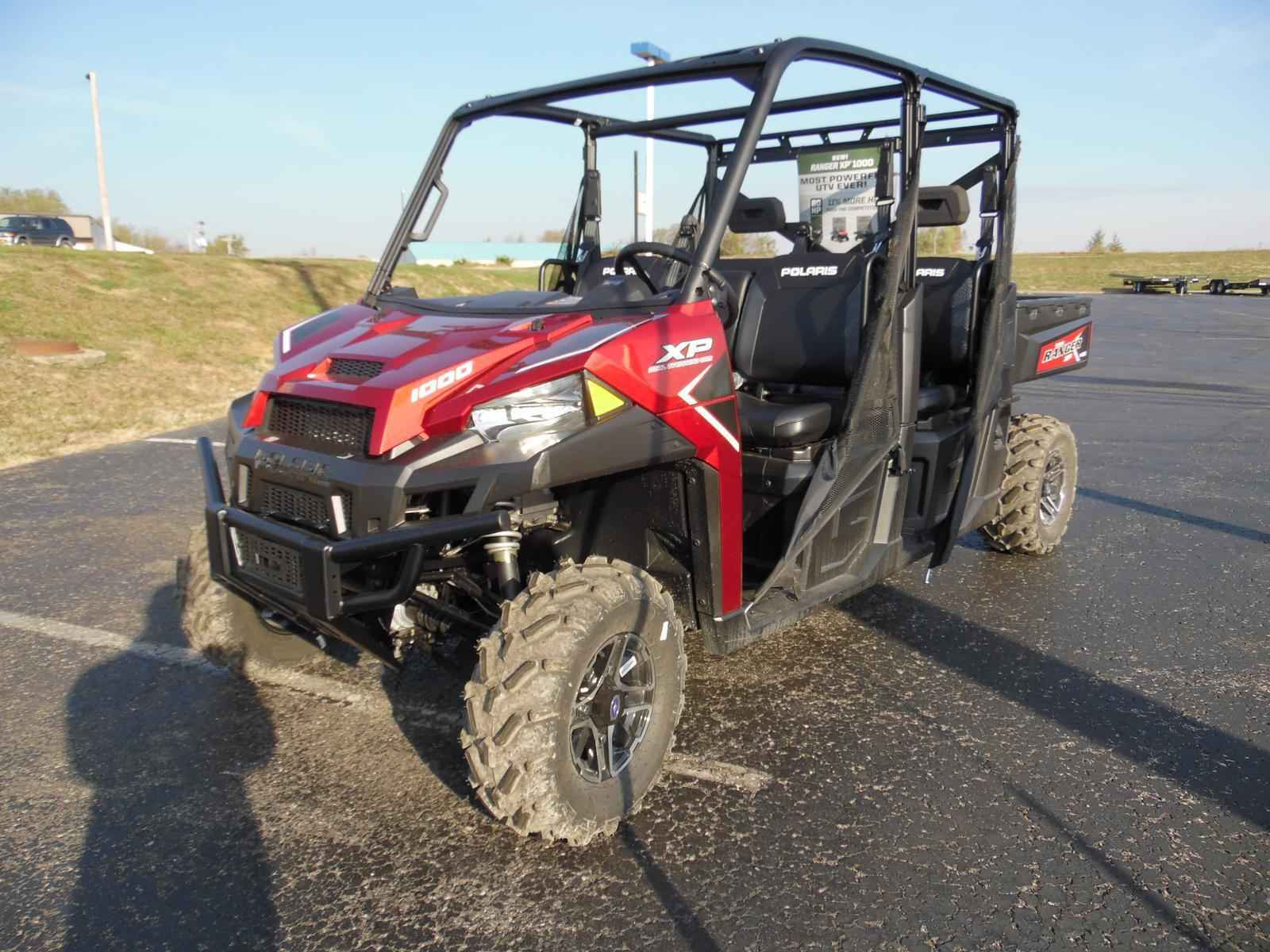 new 2017 polaris ranger crew xp 1000 eps sunset red atvs for sale in kentucky on atv trades. Black Bedroom Furniture Sets. Home Design Ideas