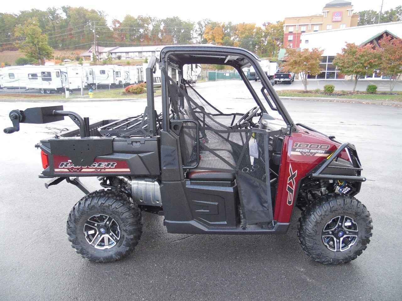 new 2017 polaris ranger xp 1000 eps ranch edition maroon metallic atvs for sale in tennessee on. Black Bedroom Furniture Sets. Home Design Ideas