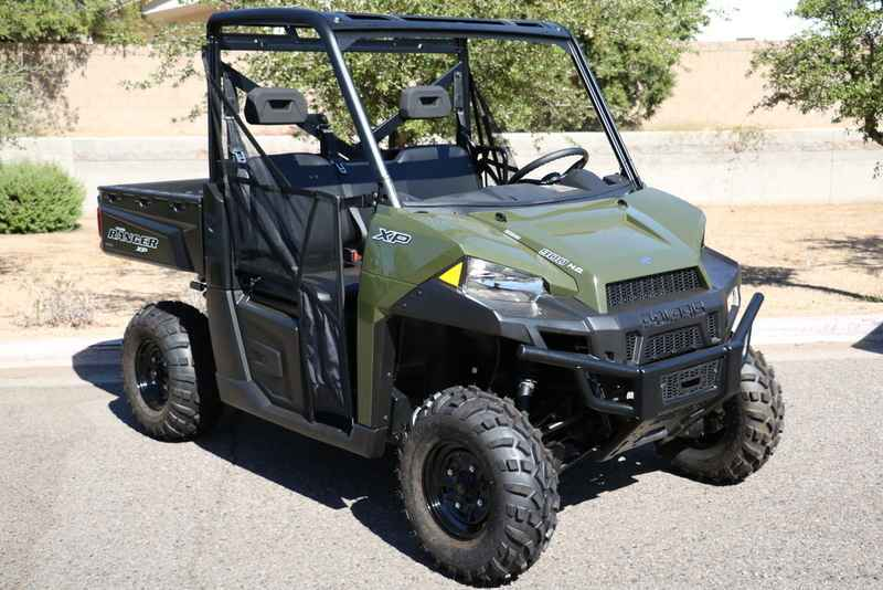 New 2017 Polaris Ranger Xp 900 Sage Green Atvs For In Arizona 12 299