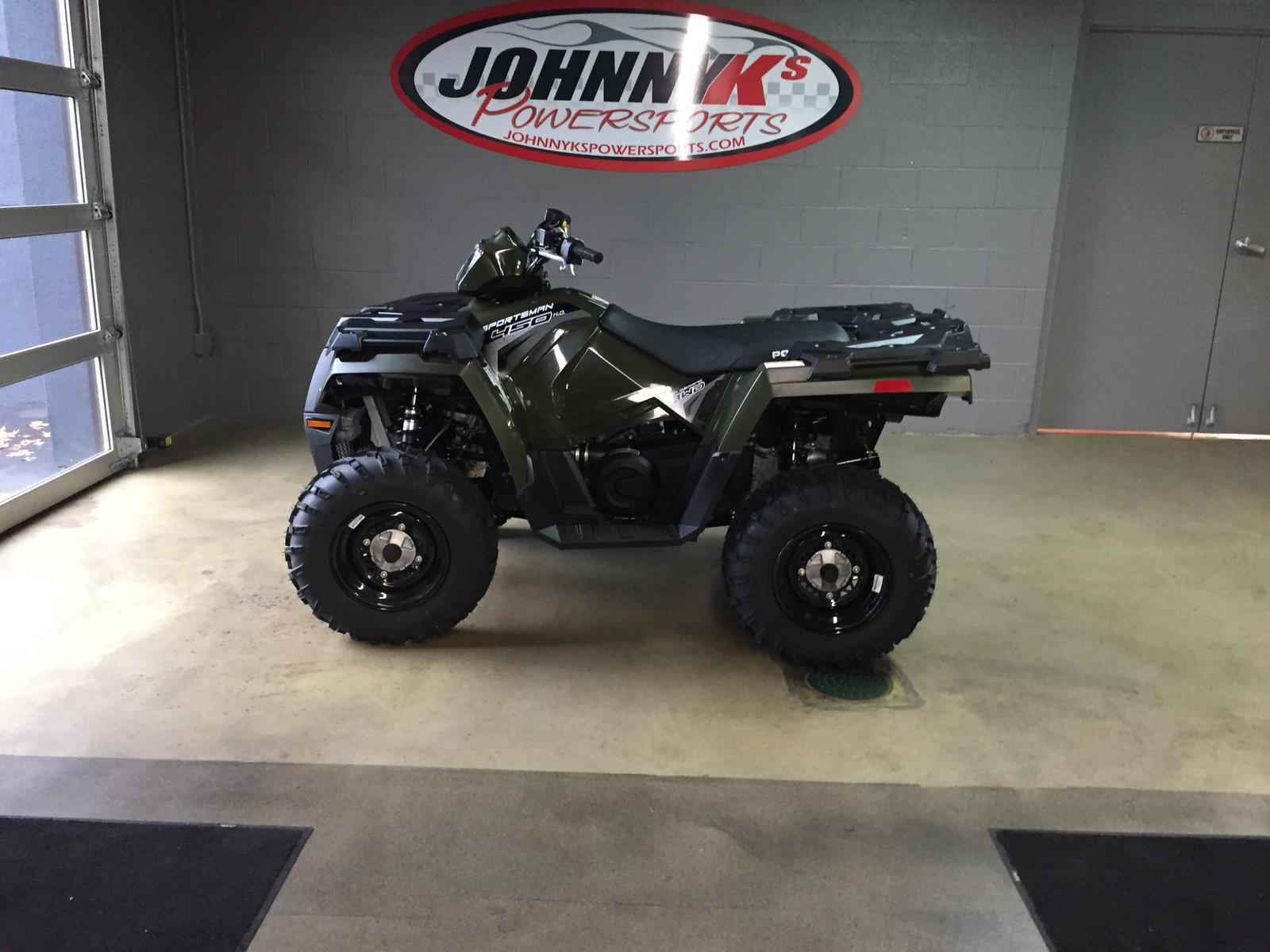 new 2017 polaris sportsman 450 eps atvs for sale in ohio on atv trades. Black Bedroom Furniture Sets. Home Design Ideas