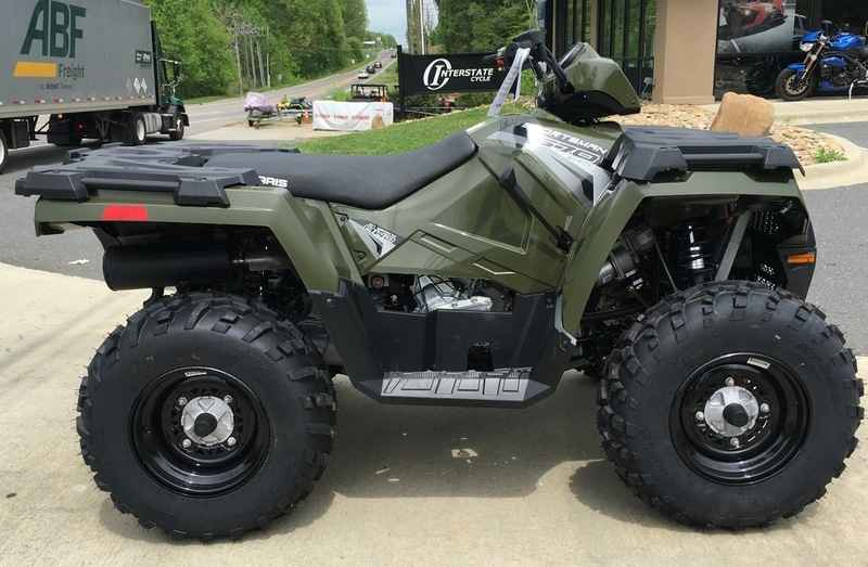New 2017 Polaris Sportsman 570 Eps Sage Green Atvs For In North Carolina 6 299