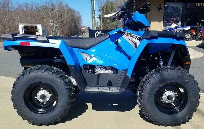 New 2017 Polaris Sportsman 570 Velocity Blue ATVs For Sale in North ...